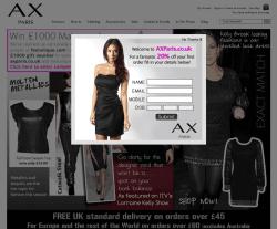 AX Paris Discount Code 2018
