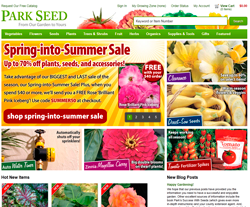 Park Seed Promo Codes 2018