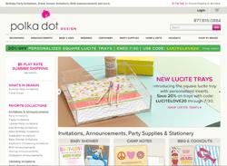 Polka Dot Design Coupon 2018