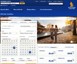 Singapore Airlines Discount Code 2018