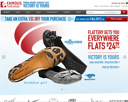 Famous Footwear Coupon 2018