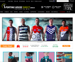 Sporting House Direct Coupon 2018