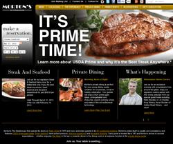 Morton's the Steakhouse Promo Codes 2018