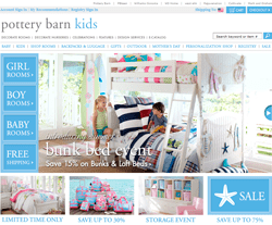 Pottery Barn Kids Promo Codes 2018