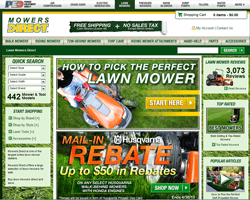 Mowers Direct Coupons 2018