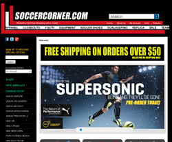 SoccerCorner.com Coupon 2018
