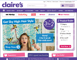 Claire's UK Discount Code 2018