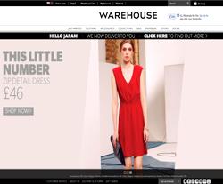Warehouse UK Discount Code 2018