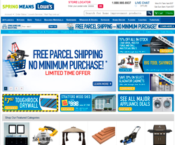 Lowe's Canada Promo Codes 2018