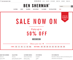 Ben Sherman UK Discount Code 2018