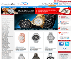 CertifiedWatchStore Coupon 2018