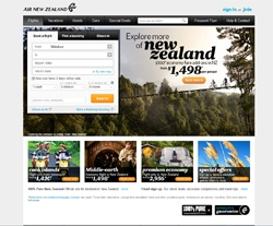 Air New Zealand Canada Promo Codes 2018