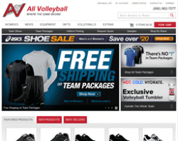 All Volleyball Promo Codes 2018