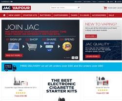 JAC Vapour Discount Code 2018