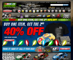Nascar Superstore Coupon 2018