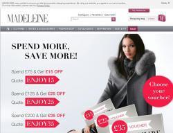 Madeleine Discount Code 2018