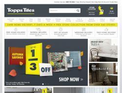 Topps Tiles Discount Code 2018