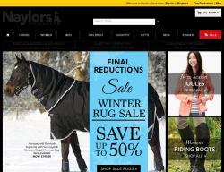 Naylors Equestrian Discount Code 2018