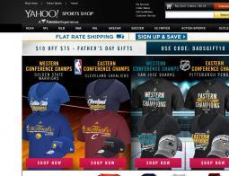 Yahoo! Sports Shop Coupon 2018