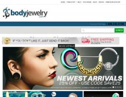Body Jewelry Coupon 2018