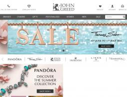 John Greed Jewellery Discount Code 2018
