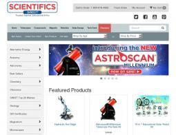 Scientifics Online Coupon 2018