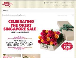 Roses Only SG Promo Codes 2018