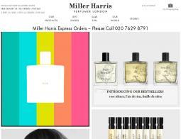 Miller Harris Discount Code 2018