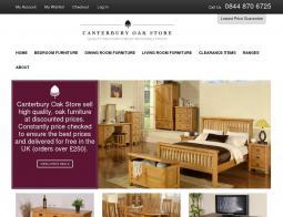 Canterbury Oak Store Discount Code 2018