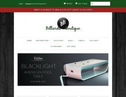 Billiards Boutique Discount Code 2018