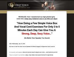 Deep Voice Mastery Promo Codes 2018