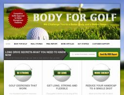 Body for Golf Coupons 2018