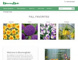 Blooming Bulb Coupon 2018