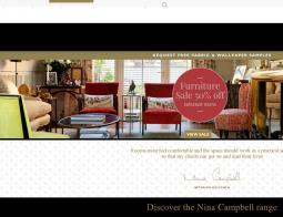 Nina Campbell Discount Code 2018
