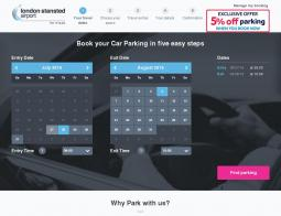 Stansted Airport Parking Promo Code 2018