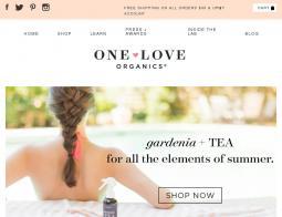 One Love Organics Coupon 2018