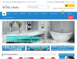 World of Baths Discount Code 2018