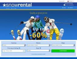 Snowrental Discount Code 2018