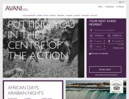 AVANI Hotels & Resorts Promo Codes 2018