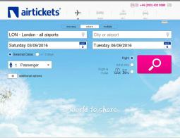 Airtickets Promo Codes 2018