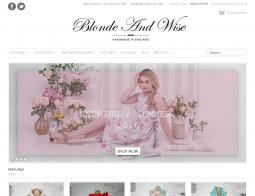 Blonde And Wise Discount Code 2018