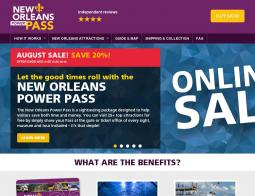New Orleans Power Pass Promo Codes 2018
