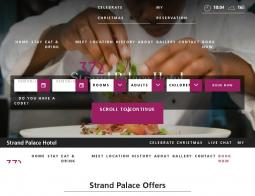 Strand Palace Hotel Discount Code 2018