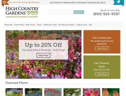 High Country Gardens Coupons 2018