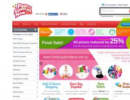 Party Supplies Now Promo Codes 2018