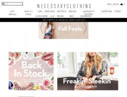 Necessary Clothing Promo Codes 2018