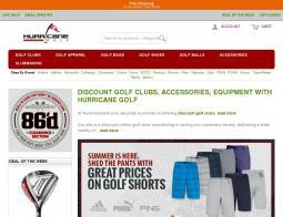 Hurricane Golf Promo Codes 2018