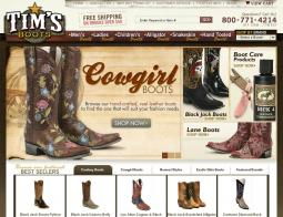 TimsBoots.com Coupon Codes 2018