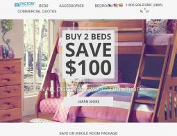 Factory Bunk Beds Coupon Codes 2018