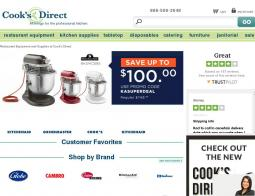 Cook's Direct, Inc. Coupon Codes 2018